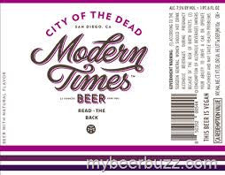 Modern Times City of the Dead Stout 22oz