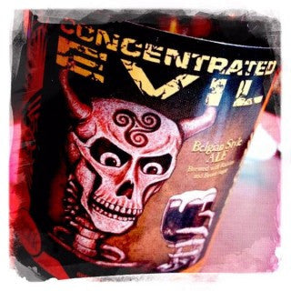 Fifty Fifty Brewing Concentrated Evil Belgian 22oz LIMIT 1 2012