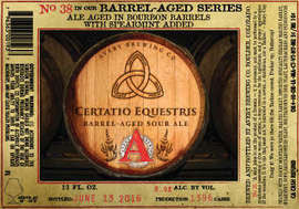 Avery Brewing Certatio Equestris Series no. 38 12oz LIMIT 2