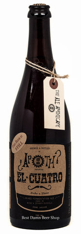 Ale Apothecary El Cuatro 750ml aged in wine and Brandy