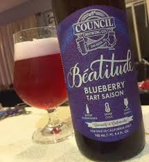 Council Beatitude Blueberry Tart Saison 750ml NO LIMIT