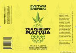 Evil Twin Brewing The Perfect Matcha 22oz