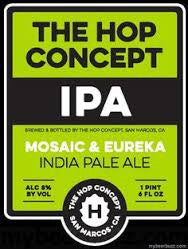 The Hop Concept Brewing Mosaic & Eureka IPA 22oz