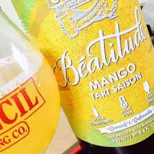 Council Brewing Beatitude Mango Tart Saison 750ml