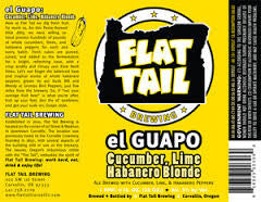 Flat Tail El Guapo 22oz