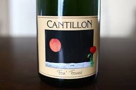Cantillon Fou Foune 750ml READ INFO LIMIT 1