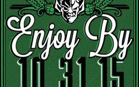 Stone Enjoy By 10.31.15 IPA 22oz