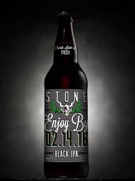 Stone Enjoy By 02.14.16 Black IPA 22oz
