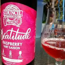 Counncil Beatitude Raspberry Tart Saison 750ml