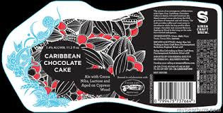 Siren Craft Brew/Cigar City collab Caribbean Chocolate Cake 11.2oz LIMIT 4