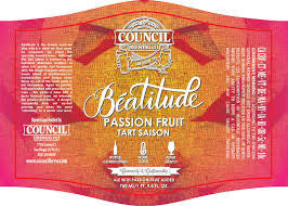 Council Beatitude Passion Fruit Tart Saison 750ml