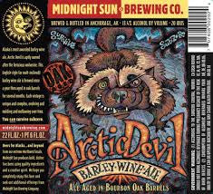 Midnight Sun Arctic Devil Barleywine 22oz 2016 LIMIT 2