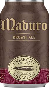 Cigar City Brewing Maduro Brown Ale 12oz cans