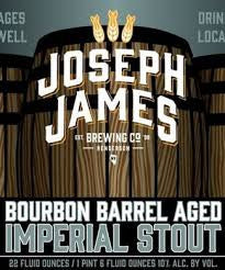 Joseph James Bourbon Barrel-Aged Imperial Stout 22oz