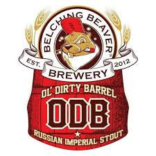 BELCHING BEAVER OL' DIRTY BARREL RUSSIAN IMPERIAL STOUT LMT 1