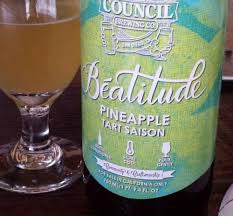 Council Beatitude PINEAPPLE TART SAISON 750ML