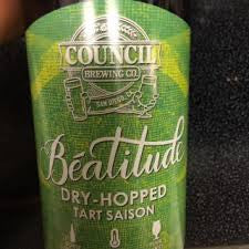 Council Brewing Co Beatitude Mosaic Dry-Hopped Tart Saison