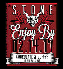 Stone Brewing Enjoy By 02.14.17 Chocolate & Coffee IPA 22oz