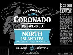Coronado Brewing Company North Island IPA 22oz