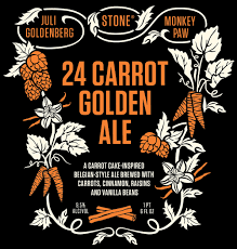 stone 24 carrot golden ale 22oz