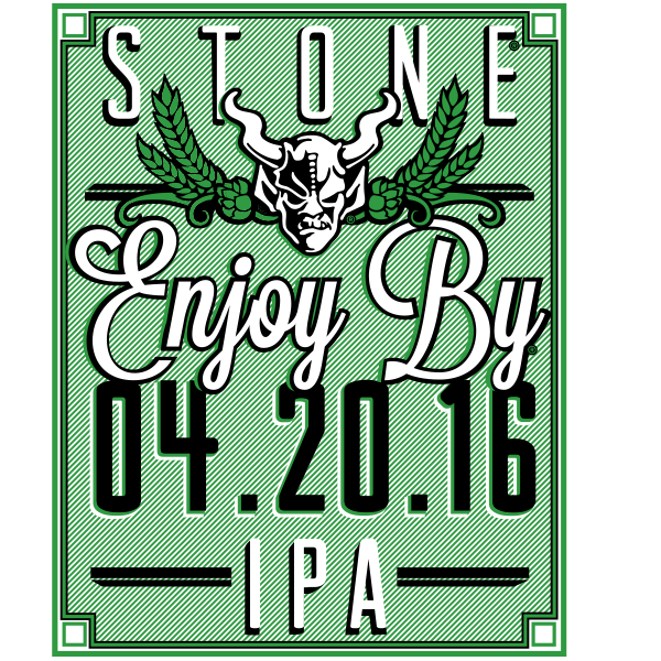 Stone Brewing Enjoy by 04.20.16 22oz