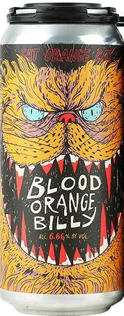 FAT ORANGE CAT BLOOD ORANGE BILLY NEW ENGLAND IPA 16oz can