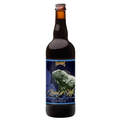 Founders Lizard of Koz Imperial Stout w/blueberries 750ml LIMIT 1