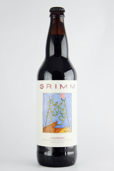 Grimm Sugarmaker Stout with Vanilla & Maple 22oz LIMIT 1