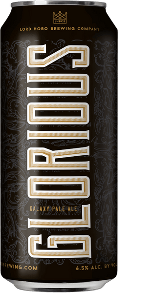 Lord Hobo Glorious Galaxy Pale Ale 4 Pack