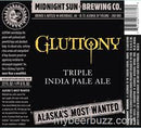 Midnight Sun Brewing Company Gluttony Triple IPA 22oz