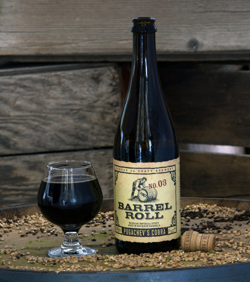 Hangar 24 Barrel Roll No. 3 - Pugachev's Cobra 2016 750ml NO LIMIT