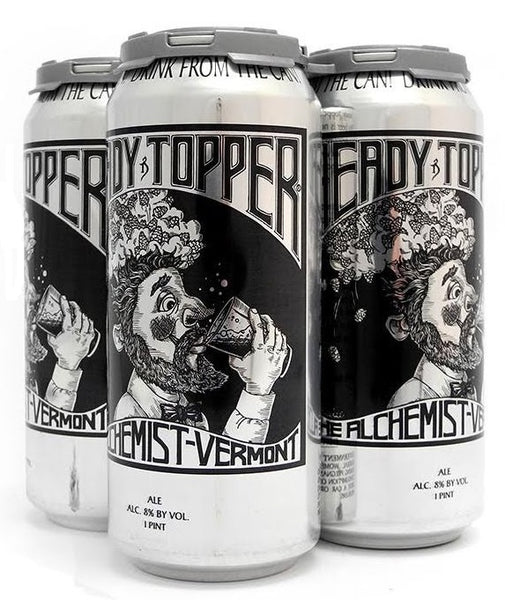 ALCHEMIST HEADY TOPPER 16OZ CANS LIMIT 2 READ INFO LIVE 8AM PST