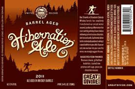 Great Divide Hibernation Ale whiskey aged 750ml