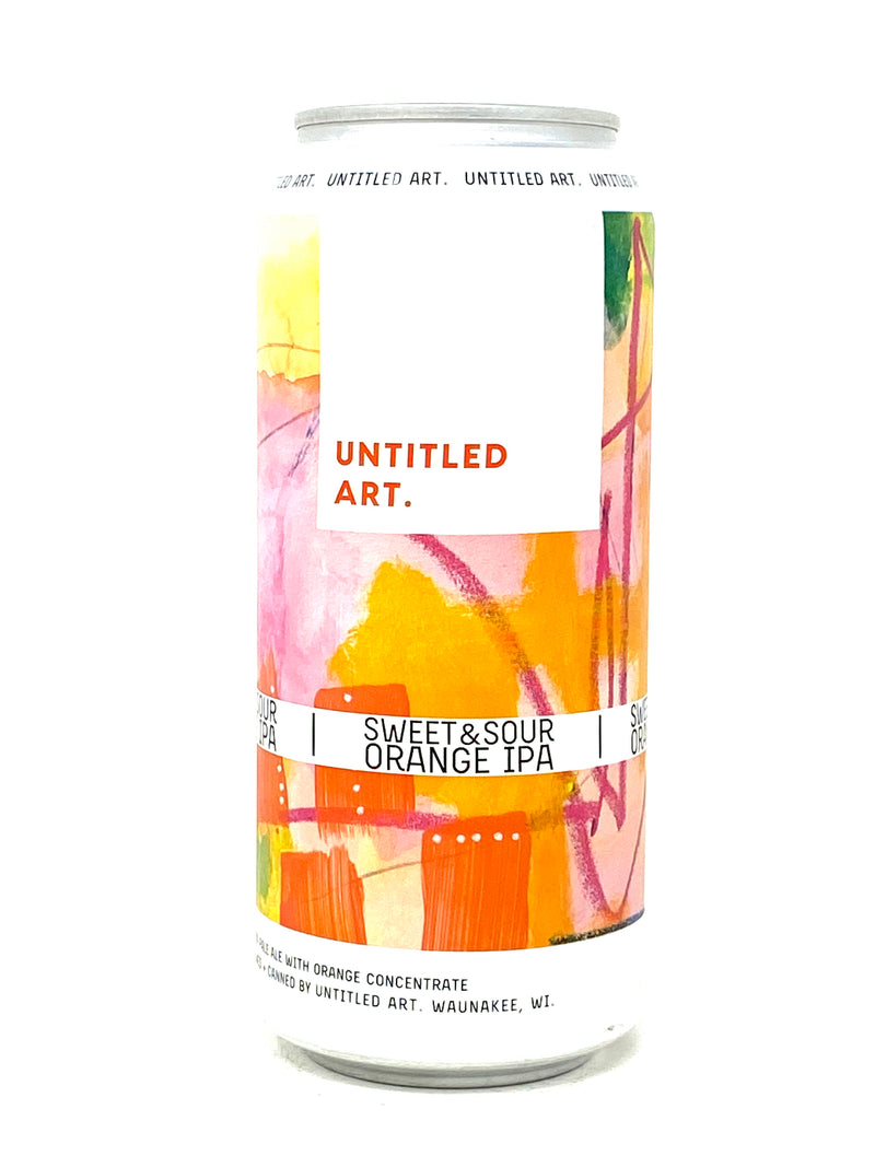 UNTITLED ART SWEET & SOUR ORANGE IPA 16oz can
