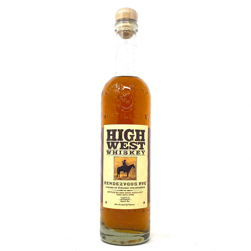 HIGH WEST RENDEZVOUS RYE 750ml Bottle