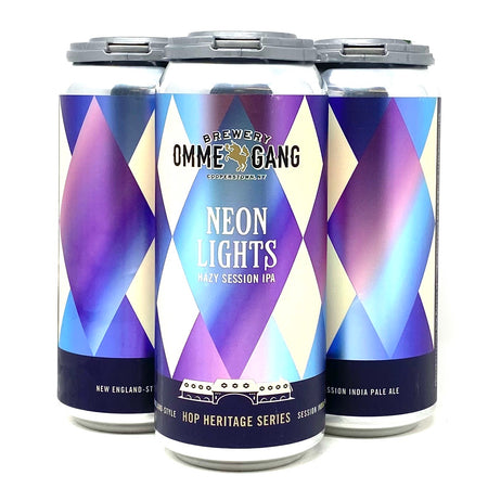 OMME GANG NEON LIGHTS HAZY SESSION IPA 16oz can