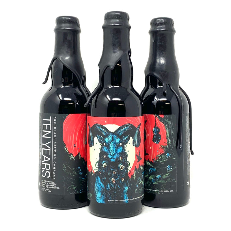 ANCHORAGE BREWING COMPANY TEN YEARS 12oz Bottle ***LIMIT 1 PER CUSTOMER***