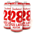BEACHWOOD 28 HAZE LATER HAZY IPA 16oz can