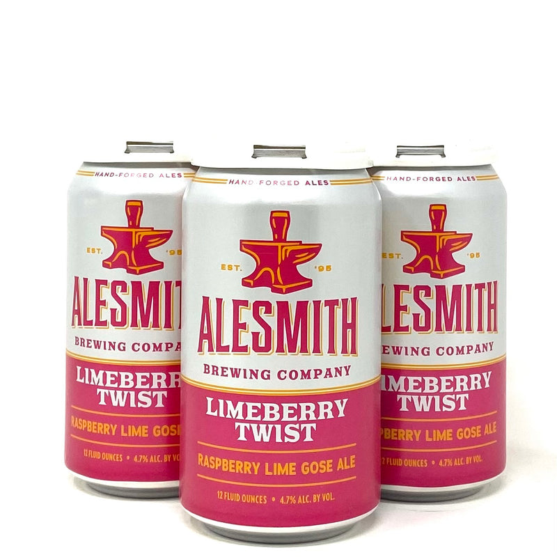 ALESMITH LIMEBERRY TWIST RASPBERRY LIME GOSE 12oz can