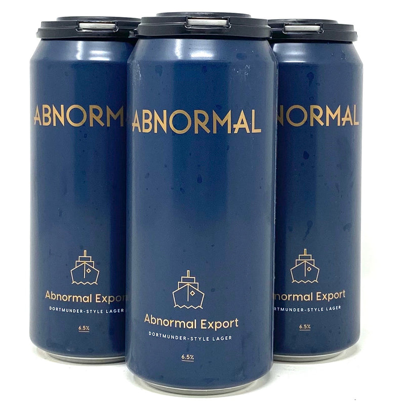 ABNORMAL 'ABNORMAL EXPORT' DORTMUNDER-STYLE LAGER 16oz can