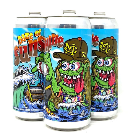 MASON ALEWORKS x MIKE CLEVINGER 'DAZE OF SUNSHINE' HAZY IPA 16oz can