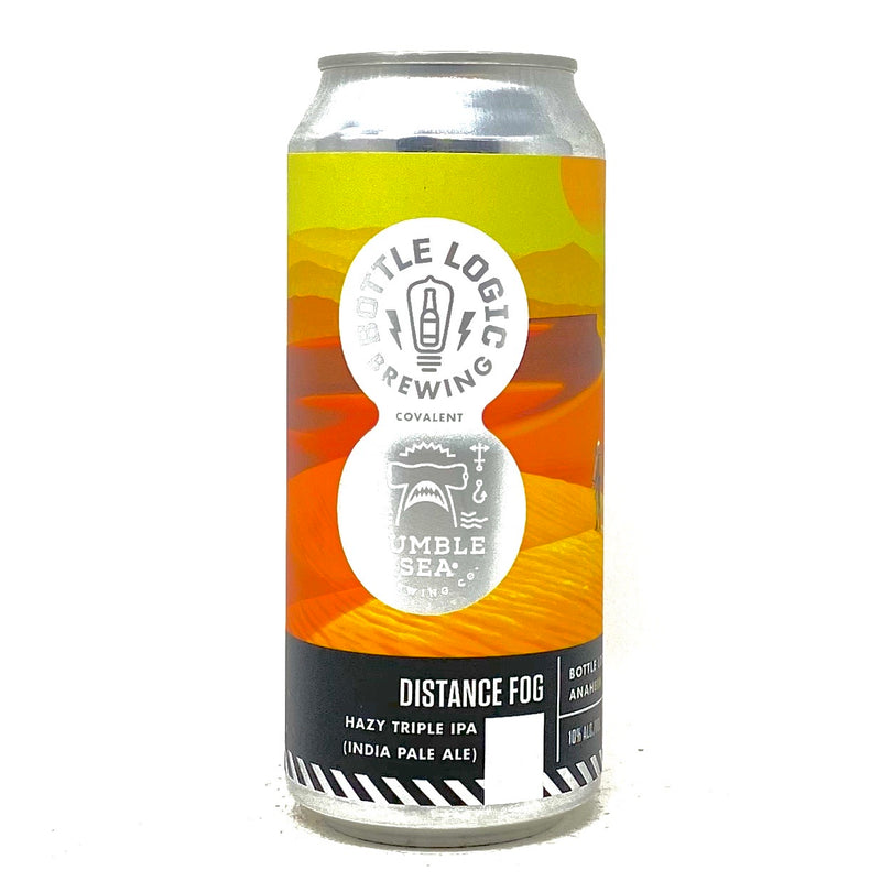 BOTTLE LOGIC DISTANCE FOG HAZY TRIPLE IPA 16oz can