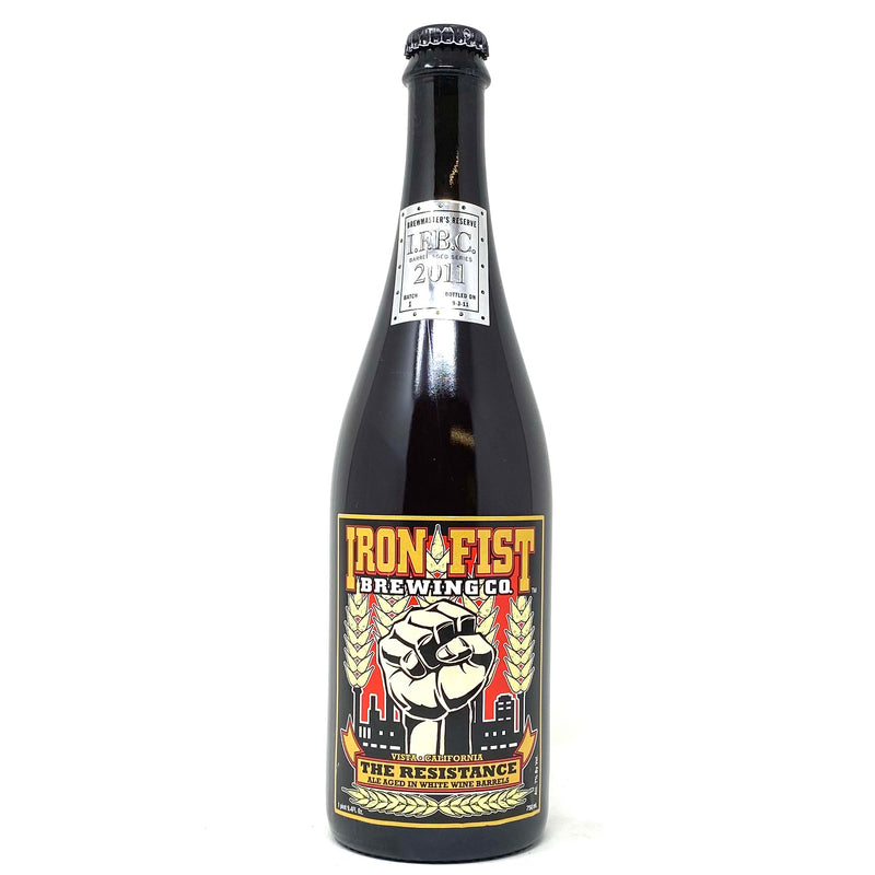 IRON FIST BREWING THE RESISTANCE ALE 750ml Bottle