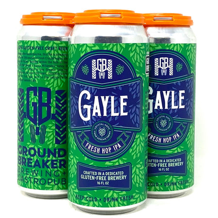 GROUND BREAKER BREWING GAYLE FRESH HOP IPA 16oz can