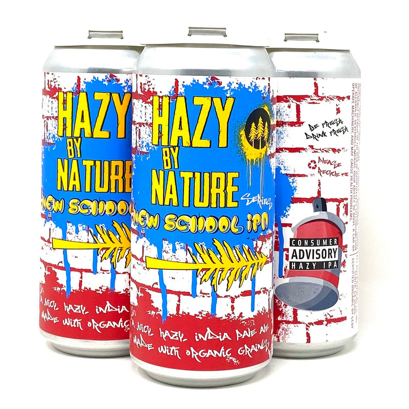 EEL RIVER BREWING HAZY BY NATURE NEW SCHOOL IPA 16oz can