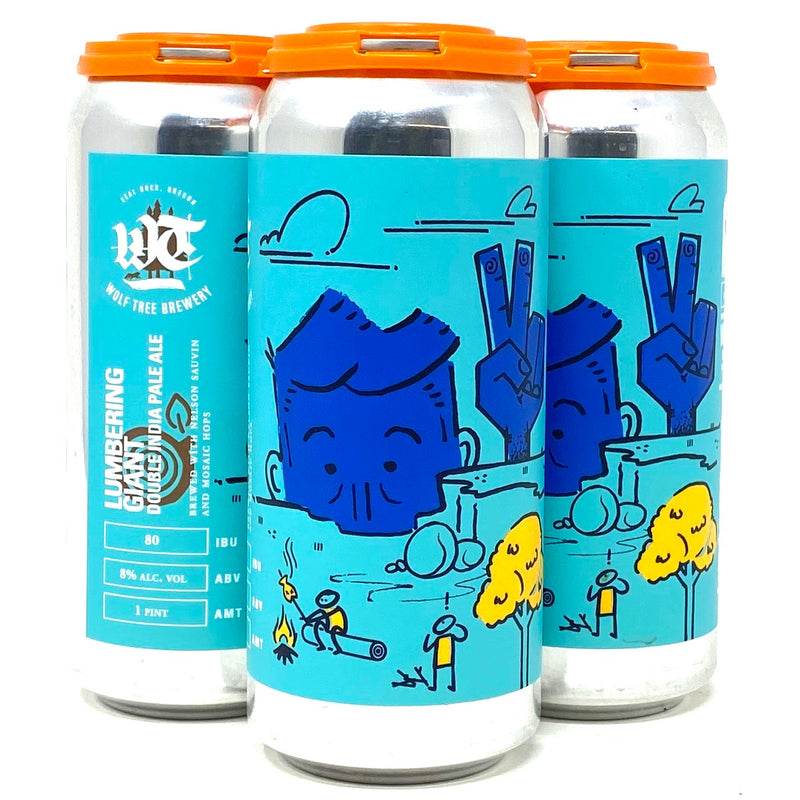 WOLF TREE LUMBERING GIANT DIPA 16oz can