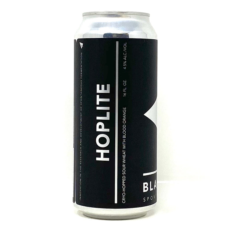 BLACK PROJECT SPONTANEOUS AND WILD ALES HOPLITE SOUR WHEAT ALE 16oz can