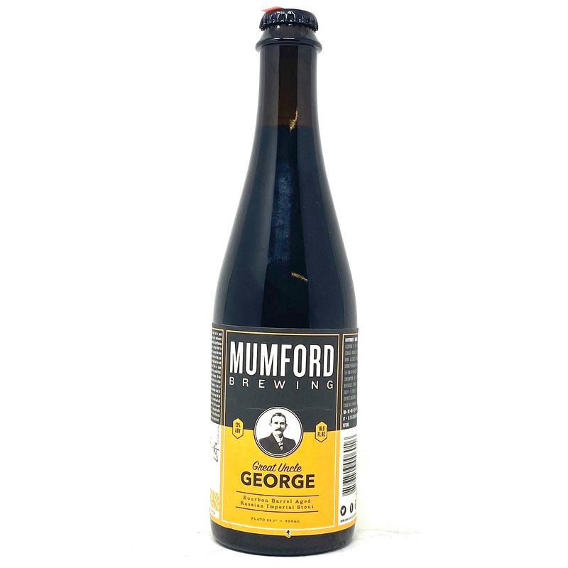 Mumford Brewing Great Uncle George Bourbon Barrel-Aged W/BRett IRS 500ml
