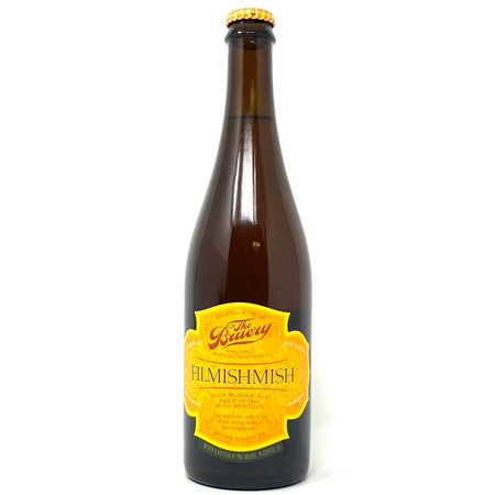 THE BRUERY FILMISHMISH SOUR BLONDE ALE AGED IN OAK w/ APRICOTS 750ml Bottle