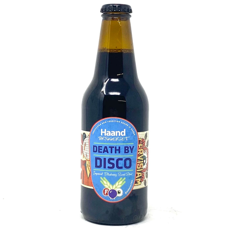HAAND BRYGGERIET DEATH BY DISCO IMPERIAL BLUEBERRY SWEET STOUT 12oz Bottle